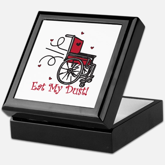 Fast Wheelchair Keepsake Box