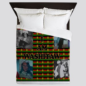 I Am Washitaw Queen Duvet