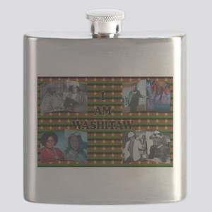 I Am Washitaw Flask
