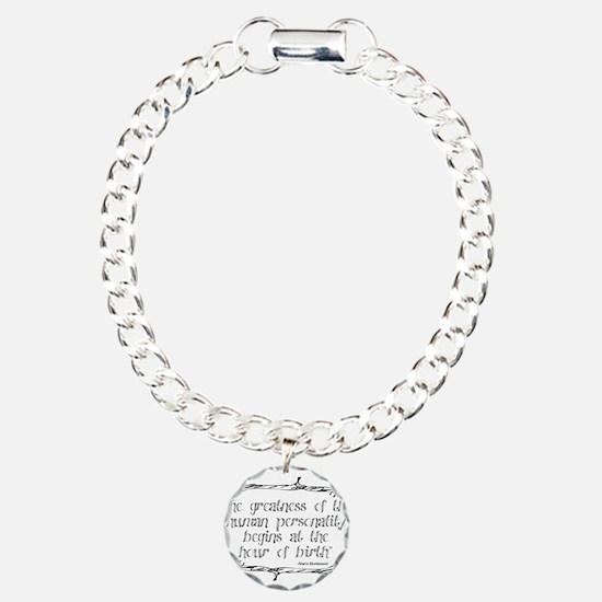 Funny Education Charm Bracelet, One Charm