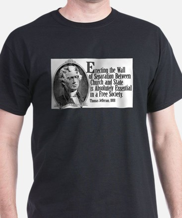 Cute Thomas jefferson religion T-Shirt