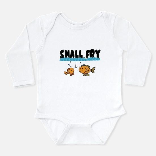 Cool Funny fishing men Long Sleeve Infant Bodysuit