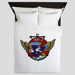 HU-1 Detachment - Oppama Queen Duvet