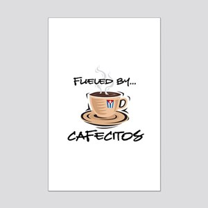 Fueled by Cafecitos Mini Poster Print