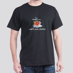 Cafe con Leche 2 Dark T-Shirt