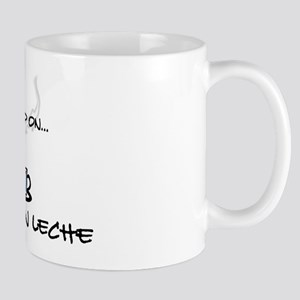 Raised on Café con Leche Mug
