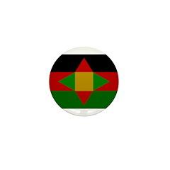 Washitaw Flag Mini Button (10 pack)