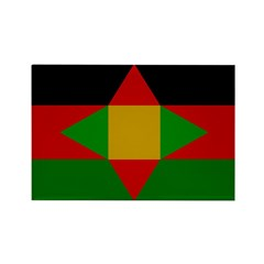 Washitaw Flag Rectangle Magnet (10 pack)
