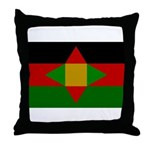 Washitaw Flag Throw Pillow