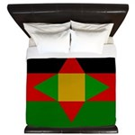 Washitaw Flag King Duvet