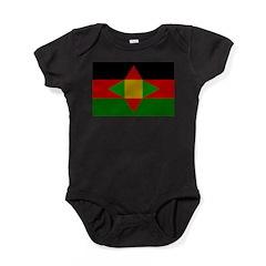Washitaw Flag Baby Bodysuit