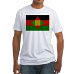 Washitaw Flag Fitted T-Shirt