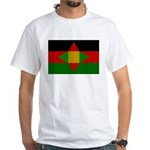 Washitaw Flag White T-Shirt