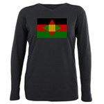 Washitaw Flag Plus Size Long Sleeve Tee