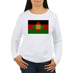 Washitaw Flag Women's Long Sleeve T-Shirt