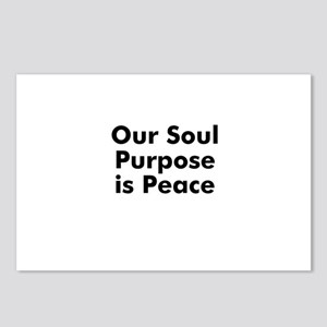 Our Soul Purpose is Peace Postcards (Package of 8)