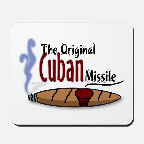 Original Cuban Misile Mousepad