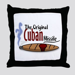 Original Cuban Misile Throw Pillow