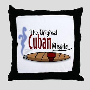 Original Cuban Misile Throw Pillow