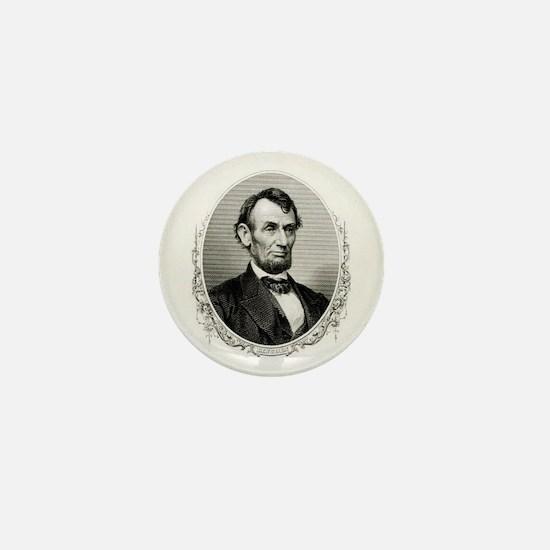 President Abraham Lincoln Mini Button