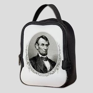 President Abraham Lincoln Neoprene Lunch Bag