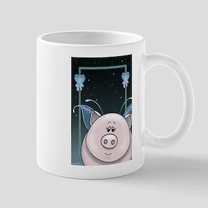 Piggy Portrait 1 Mugs