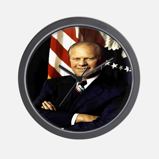 President Gerald Ford Wall Clock
