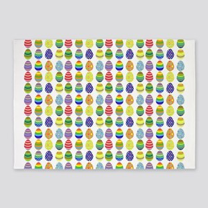 Easter egg pattern 5'x7'Area Rug