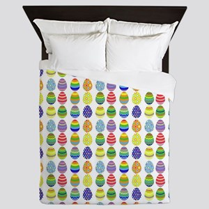 Easter egg pattern Queen Duvet