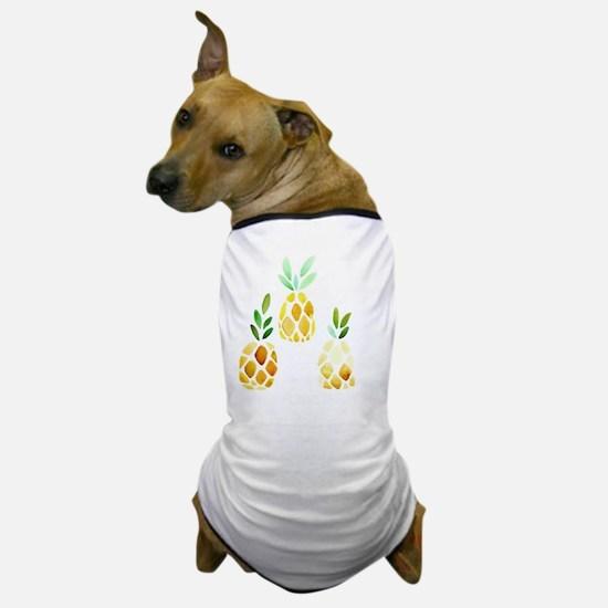 Cute Pineapples Dog T-Shirt