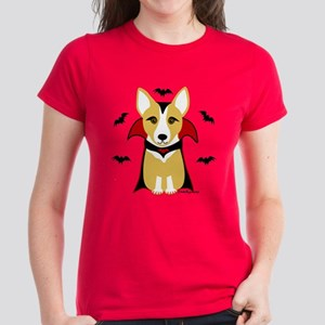 Count Corgi - Vampire Women's Dark T-Shirt