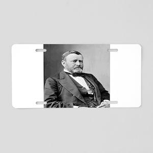 President Ulysses S Grant Aluminum License Plate