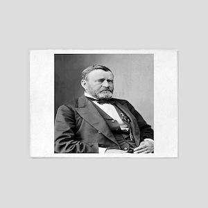 President Ulysses S Grant 5'x7'Area Rug