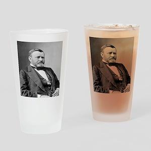 President Ulysses S Grant Drinking Glass