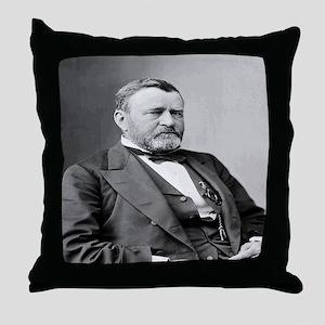 President Ulysses S Grant Throw Pillow
