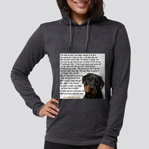 Only Thing, Rottweiler Long Sleeve T-Shirt