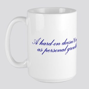 Hard-on not Personal Growth Large Mug