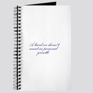 Hard-on not Personal Growth Journal