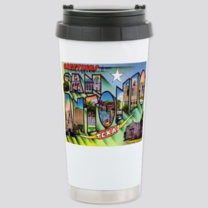 San Antonio Texas Greetings Mugs