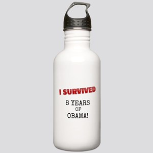 I Survived Obama Stainless Water Bottle 1.0l