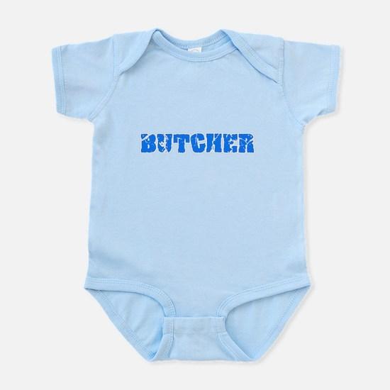Butcher Blue Bold Design Body Suit