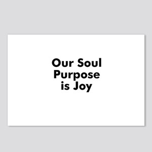 Our Soul Purpose is Joy Postcards (Package of 8)