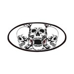 Support Your Local Evil Dead Mc Patch