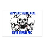 Support Your Local Evil Postcards (package Of 8)