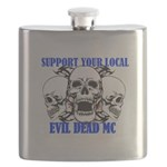 Support Your Local Evil Dead Mc Flask