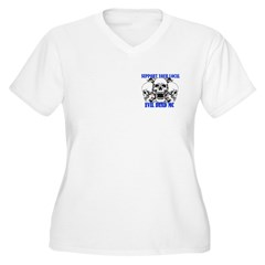 Support Your Local Evil Dead Mc Plus Size T-Shirt