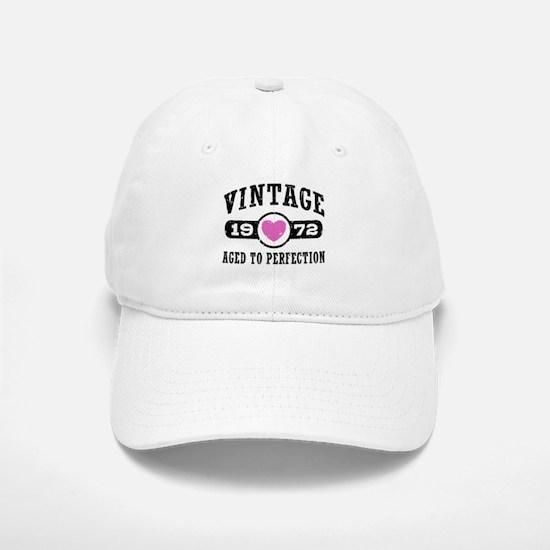 Vintage 1972 Baseball Baseball Cap