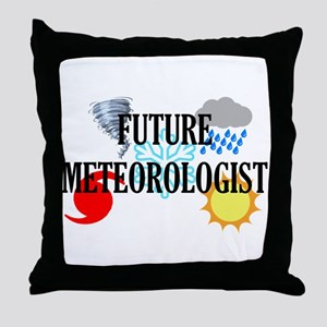 Future Meteorologist Throw Pillow