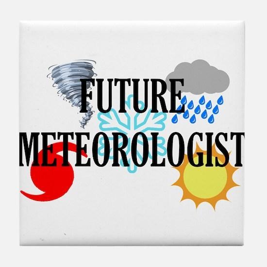 Future Meteorologist Tile Coaster