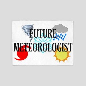 Future Meteorologist 5'x7'Area Rug
